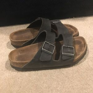 Leather Birkenstocks